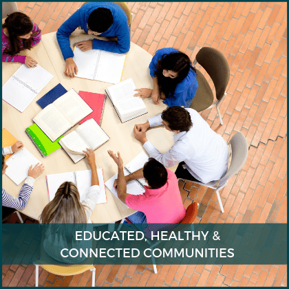 Educated, Healthy and Connected Communities